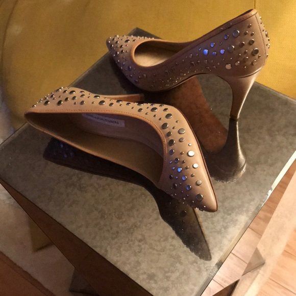 With Paypal Online Buy Cheap Excellent Diane Von Furstenberg Woman Metallic Leather Loafers Silver Size 7 Diane Von F 8sHnT4